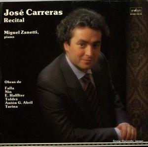 ホセ・カレーラス - recital - ENY-952