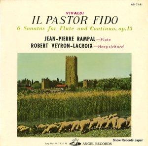 ジャン=ピエール・ランパル&ロベール・ヴェイロン=ラクロワ - ヴィヴァルディ:忠実なる羊飼作品13 - AB.7141