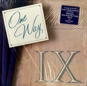 ワン・ウェイ - one way ix - MCA-5823