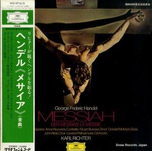 カール・リヒター - ヘンデル:オラトリオ「メサイア」全曲 - MG9716/8