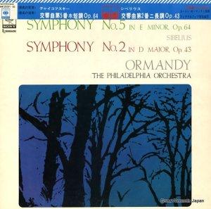 ユージン・オーマンディ - チャイコフスキー:交響曲第5番ホ短調作品64 - SONW20091-92