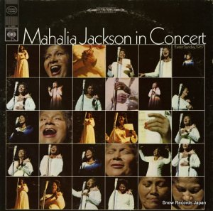 マヘリア・ジャクソン - mahalia jackson in concert easter sunday, 1967 - CS9490