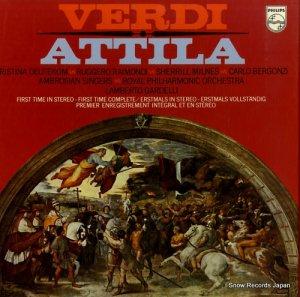 ランベルト・ガルデルリ - verdi; attila - 6700056 / 6500390-1