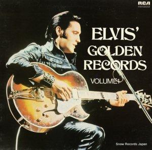 エルヴィス・プレスリー - elvis' golden records volume 1 - INTS5143