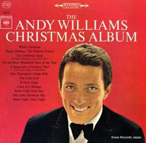 アンディ・ウィリアムス - christmas album - CS8887