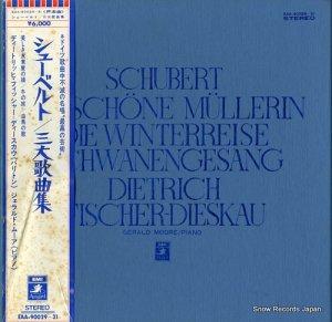 ディートリッヒ・フィッシャー=ディースカウ - シューベルト:三大歌曲全集 - EAA-90029-31