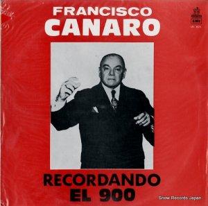 フランシスコ・カナロ - recordando el 900 - URL826