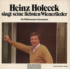 ハインツ・ホレチェック - singt seine liebsten wienerlieder - SPR135020