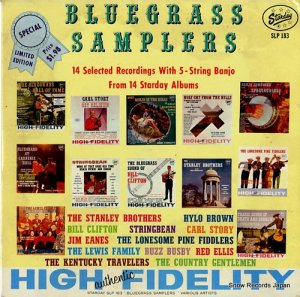 V/A - bluegrass samplers - SLP183