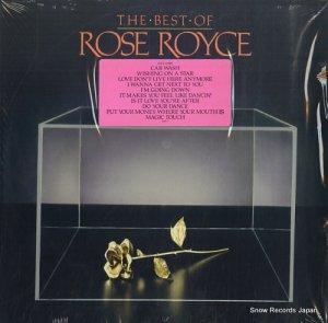 ローズ・ロイス - the best of rose royce - 790641-1