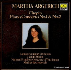 マルタ・アルゲリッチ - ショパン:ピアノ協奏曲第1番&第2番 - 20MG0766