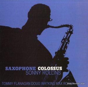 ソニー・ロリンズ - saxophone colossus - VNL12224