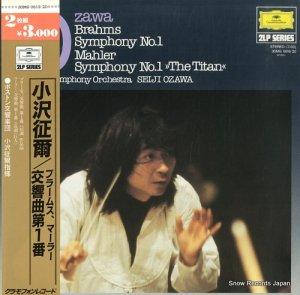 小沢征爾 - ブラームス:交響曲第1番ハ短調作品68 - 30MG0619/20