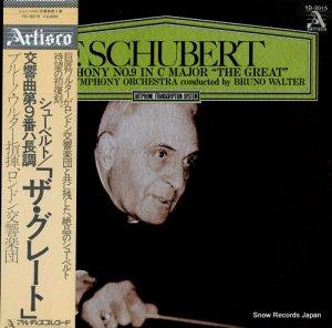 ブルーノ・ワルター - シューベルト:交響曲第9番ハ長調「ザ・グレート」 - YD-3015