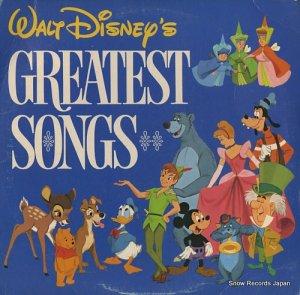 V/A - walt disney's greatest songs - DISNEYLAND3514