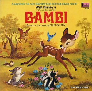 V/A - walt disney's story and songs from bambi - DISNEYLAND3903