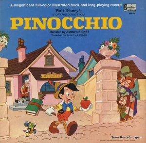 ジミニー・クリケット - walt disney's sotry and songs from pinocchio - DISNEYLAND3905
