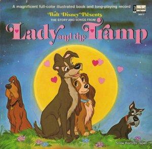 ジニー・タイラー - the story and songs from lady and the tramp - DISNEYLAND3917