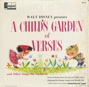 フランシス・アーチャー&BEVERLY GILE - walt disney presents a child's garden of verses - DQ-1241