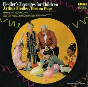 フィードラーとボストンポップス - fiedler's favorites for children - VCS-7080