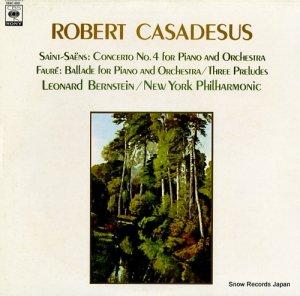 ロベール・カザドシュ - サン=サーンス:ピアノ協奏曲第4番ハ短調作品44 - 13AC400
