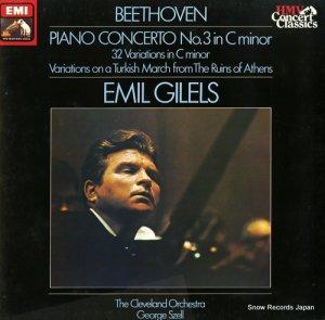 エミール・ギレリス - beethoven; piano concerto no.3 in c minor - SXLP1436491