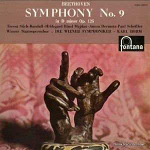 カール・ベーム - ベートーヴェン:交響曲第9番ニ短調作品125「合唱」 - FON-5517
