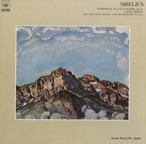 レナード・バーンスタイン - シベリウス:交響曲第2番ニ長調作品43 - FCCA525