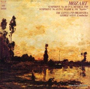 ジョージ・セル - モーツァルト:交響曲第40番&41番「ジュピター」 - FCCA121