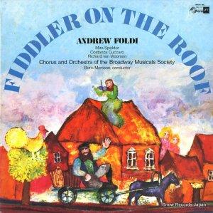 アンドリュー・フォルディ - 屋根の上のヴァイオリン弾き(全曲) - SMS-2767