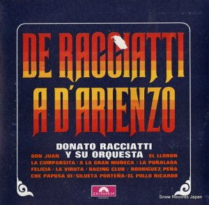 DONATO RACCIATTI Y SU ORQUESTA - de racciatti a d'arienzo - 2952013
