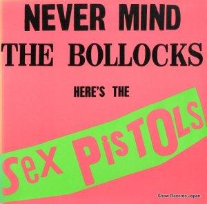 セックス・ピストルズ - never mind the bollocks - BSK3147
