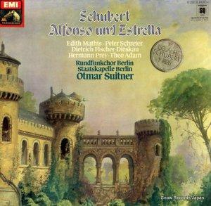 オトマール・スウィトナー - schubert; alfonso und estrella - 1C157-30816/18Q
