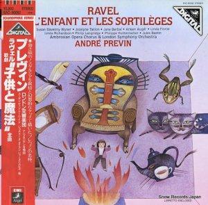 アンドレ・プレヴィン - ラヴェル:歌劇「子供と魔法」全曲 - EAC-90092