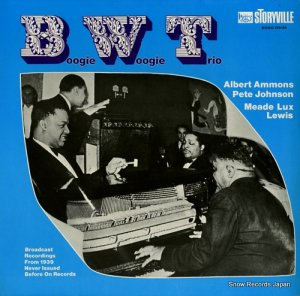 BOOGIE WOOGIE TRIO - broadcast recordings from 1939 never issued before on records - 670184