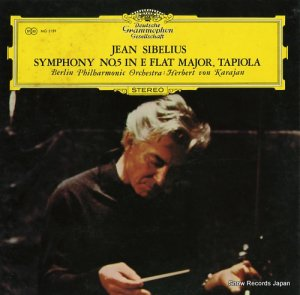 ヘルベルト・フォン・カラヤン - シベリウス:交響曲第5番変ホ長調作品82、交響詩「タピオラ」作品112 - MG2159