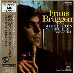 フランス・ブリュッヘン - 涙のパヴァーヌ/ブロックフレーテの魅力1 - K17C-8308