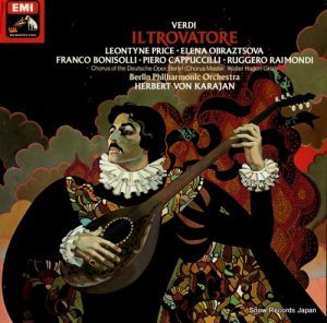 ヘルベルト・フォン・カラヤン - verdi; il trovatore - SLS5111 / 163-02981/3Q