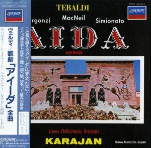 ヘルベルト・フォン・カラヤン - ヴェルディ:歌劇「アイーダ」全曲 - L54C5070/2