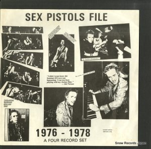 セックス・ピストルズ - sex pistols file 1976-1978 - BLA169
