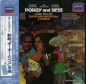 ローリン・マゼール - ガーシュウィン:歌劇「ポーギーとベス」(全曲) - L54C-5051/3