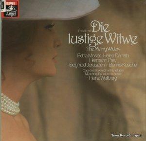 ハインツ・ワルベルク - lehar; the merry widow - 1C157-457802/81