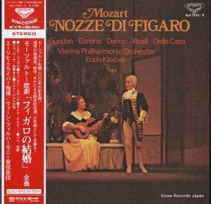 エーリッヒ・クライバー - モーツァルト:歌劇「フィガロの結婚」全曲 - SLA7533/5