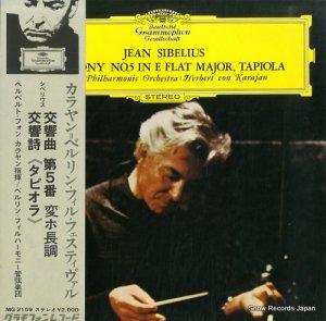 ヘルベルト・フォン・カラヤン - シベリウス:交響曲第5番変ホ長調、交響詩「タピオラ」 - MG2159