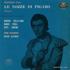 エーリッヒ・クライバー - モーツァルト:歌劇「フィガロの結婚」ハイライツ - LC22