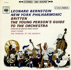 レナード・バーンスタイン - ブリッテン:青少年のための管弦楽入門作品34 - OS-276