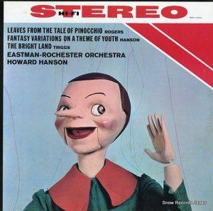 ハワード・ハンソン - rogeros; leaves from the tale of pinocchio - ERA-1002