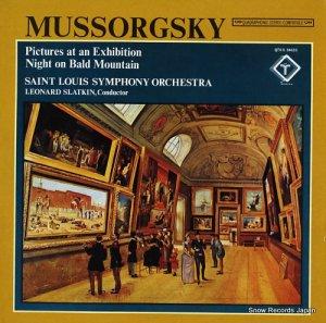 レナード・スラットキン - mussorgsky; pictures at an exhibition, night on bald mountain - QTV-S34633