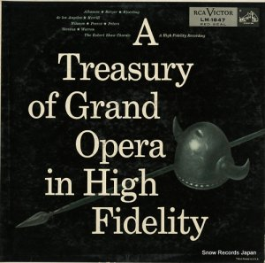 V/A - a treasury of grand opera in high fidelity - LM-1847