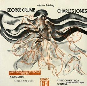 THE NEW YORK STRING QUARTET - crumb; black angels - CRISD283